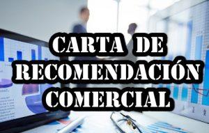 Carta de recomendación comercial
