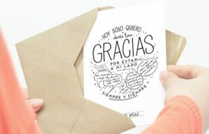Carta de agradecimiento por apoyo
